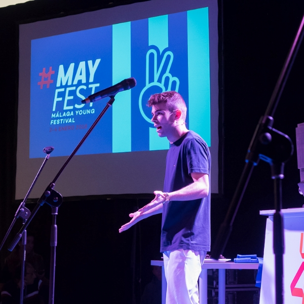 Youtuber Salva en MayFest 2018